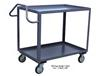 HIGH DECK SHELF CARTS WITH ERGO HANDLE