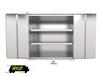 STAINLESS STEEL SHELF CABINETS
