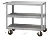STOCK CARTS - HDT SERIES CARTS WITH SEMI-STEEL CASTERS