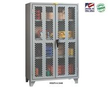12 GA. CLEAR VIEW STORAGE CABINETS