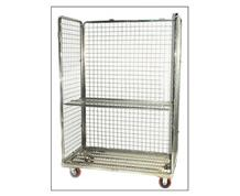 OPEN FRONT CART WITH SHELF